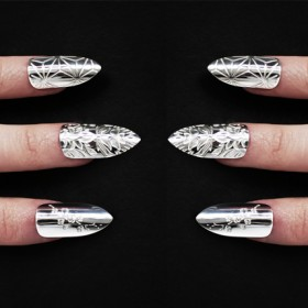 Accent nail on every nail!