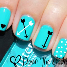 Beautiful nail decals